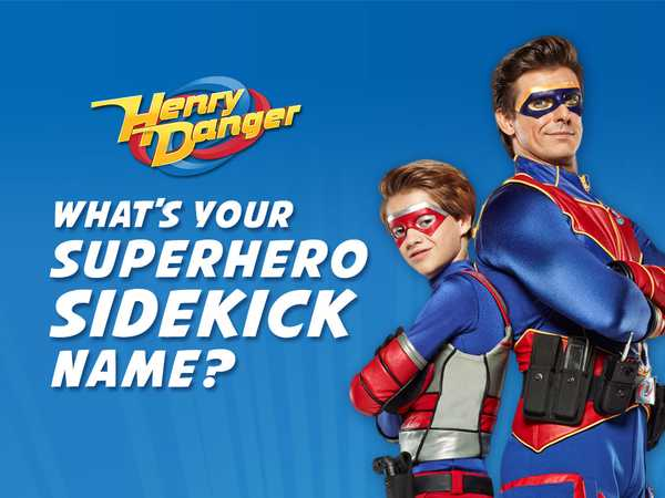 What's Your Superhero Sidekick Name?