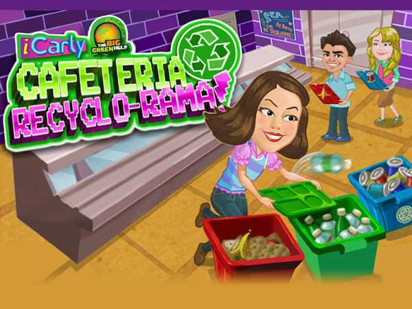 iCarly: Cafeteria Recyclo-rama