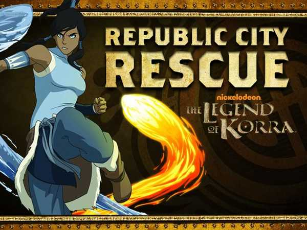 The Legend of Korra: Republic City Rescue