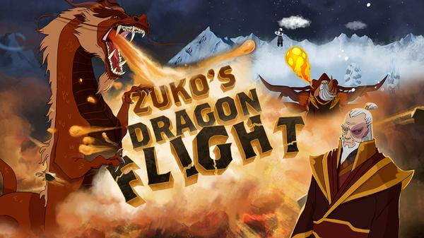 Zuko's Dragon Flight Featured Image