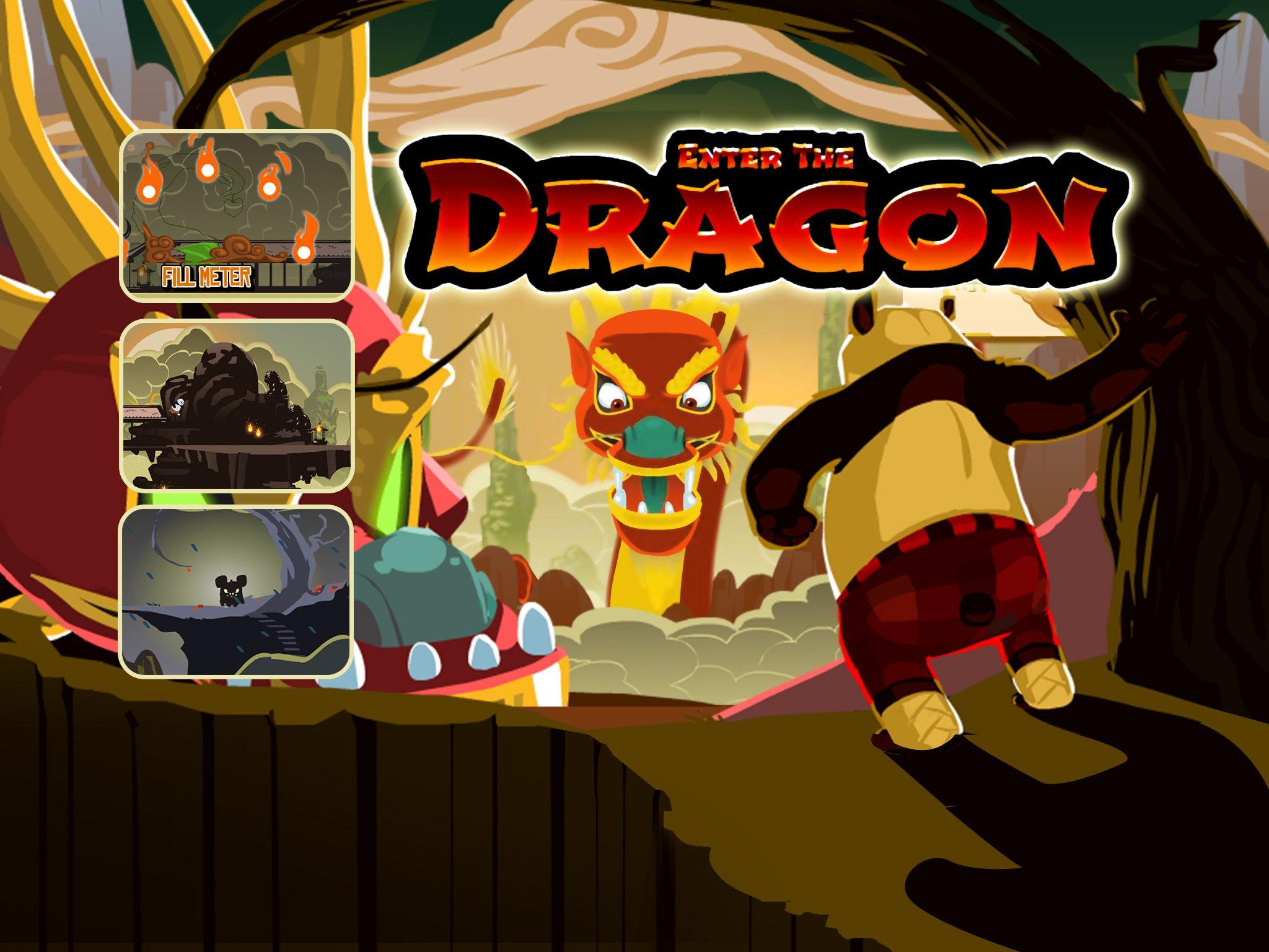 Kung Fu Panda Enter the Dragon - 2 Cartoon Games
