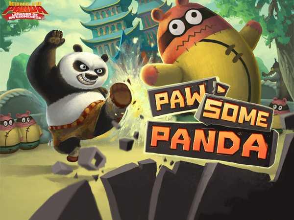 Kung Fu Panda: Paw-Some Panda