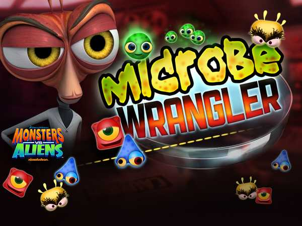 Monsters Vs Aliens: Dr. Cockroach's Microbe Wrangler
