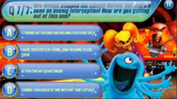 Monsters vs. Aliens: What's Your Monster Superpower? Screenshot Picture
