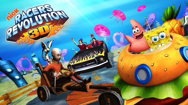 Nick Racers Revolution 3D Featured Image