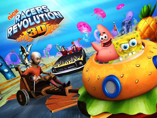 Nickelodeon Racers Revolution 3d Racing Game