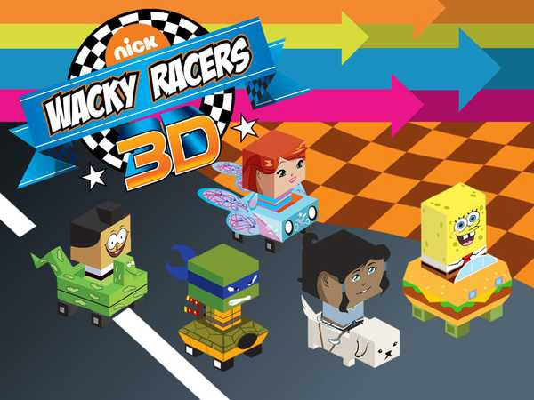 Nick Wacky Racers 3D