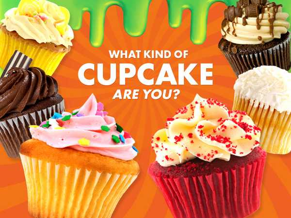 Nickelodeon: What Kind Of Cupcake Are You?