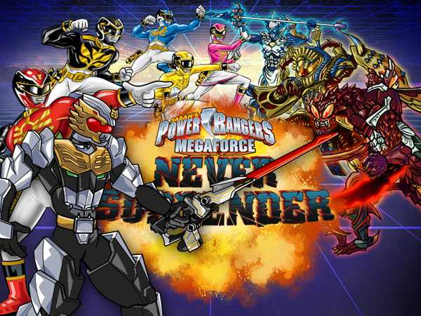 power rangers super megaforce game