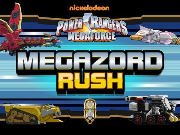 Power Rangers Megaforce: Megazord Rush