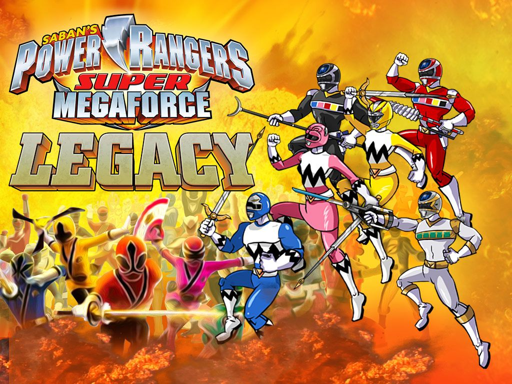 Power Rangers Super Megaforce: Legacy | Games | Free ...