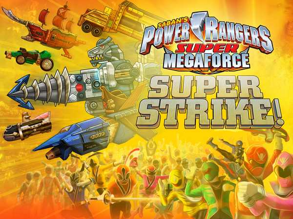Power Rangers Super Megaforce: Super Strike HTML5
