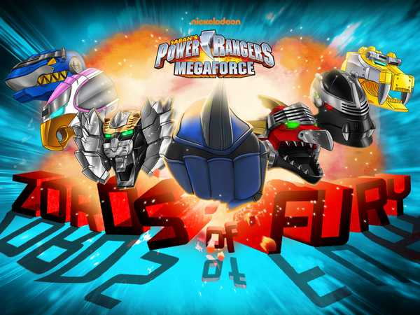 Power Rangers Megaforce: Zords of Fury