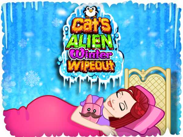 Cat's Alien Winter Wipeout