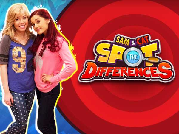 Sam & Cat: Spot the Differences