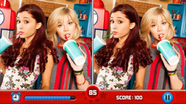 Sam & Cat: Spot the Differences Screenshot Picture
