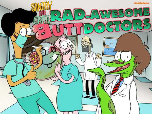 Sanjay and Craig: Rad-Awesome Butt Doctors