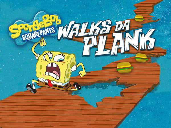 SpongeBob SquarePants: Walks Da Plank