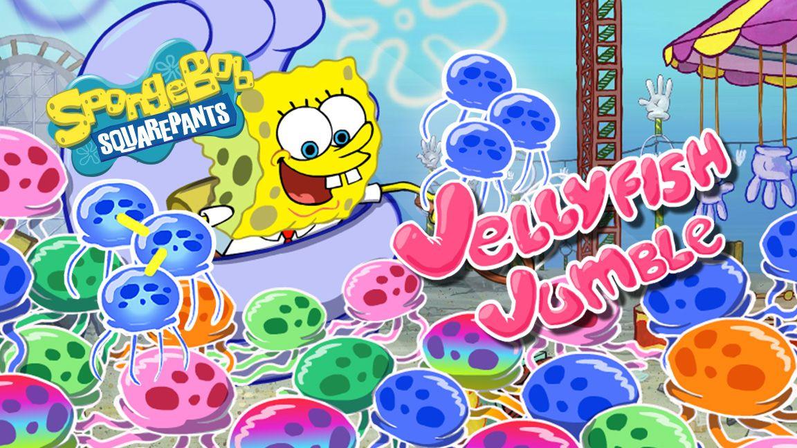 spongebob squarepants  jellyfish jumble