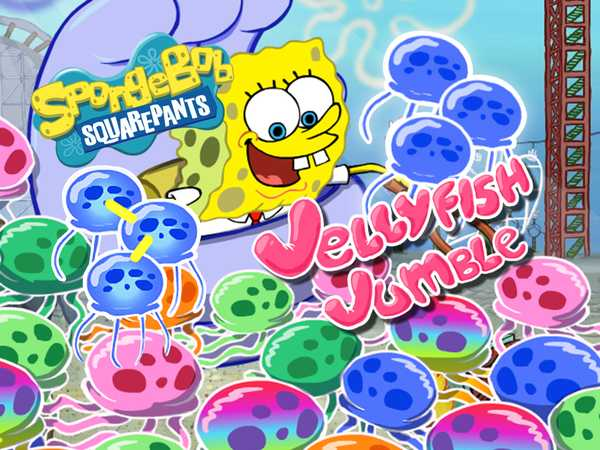 SpongeBob SquarePants: Jellyfish Jumble