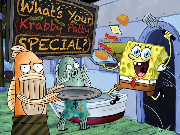 SpongeBob SquarePants: What's Your Krabby Patty Special?