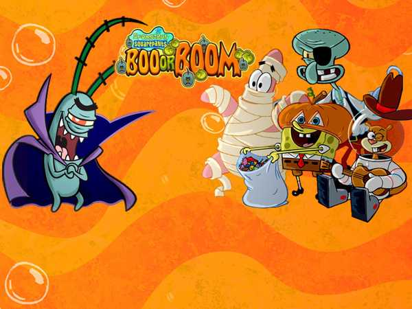 SpongeBob SquarePants: Boo or BOOM