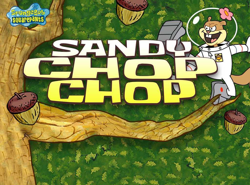 SpongeBob SquarePants: Sandy Chop Chop