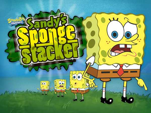 SpongeBob SquarePants: Sandy's Sponge Stacker
