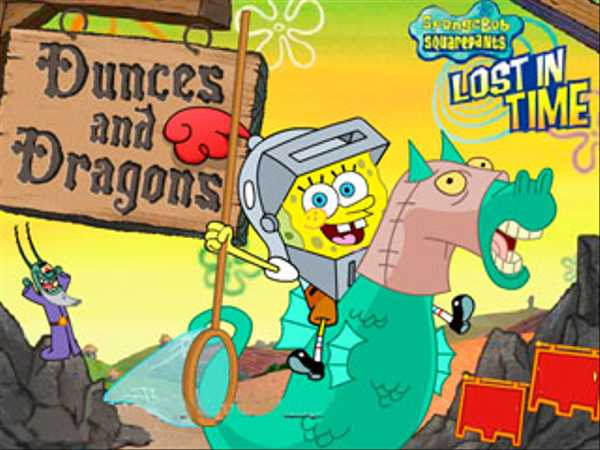 SpongeBob SquarePants: Dunces and Dragons