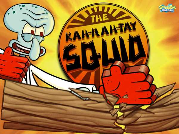 SpongeBob SquarePants: The Kah-rah-tay Squid