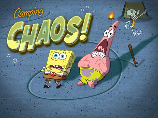 SpongeBob SquarePants: Camping Chaos