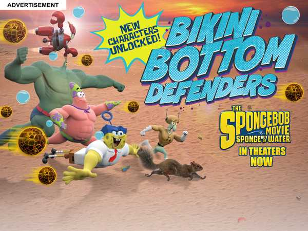 (AD) SpongeBob SquarePants: Bikini Bottom Defenders