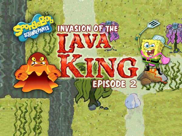 SpongeBob SquarePants: Invasion of the Lava King 2