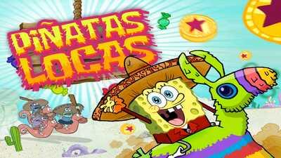 spongebob squarepants piñatas locas - spongebob games