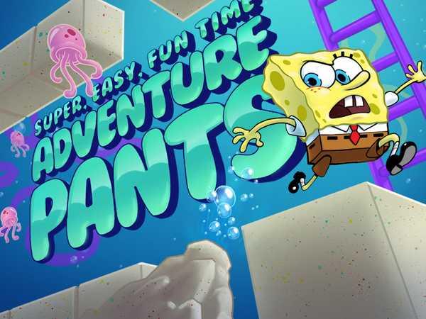 SpongeBob SquarePants: Super, Easy, Fun Time Adventure Pants