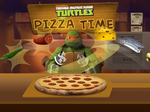 Teenage Mutant Ninja Turtles: Pizza Time