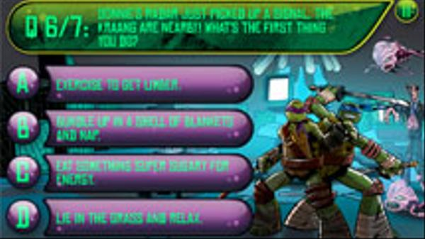 What's Your TMNT Pizza Topping? Screenshot Picture