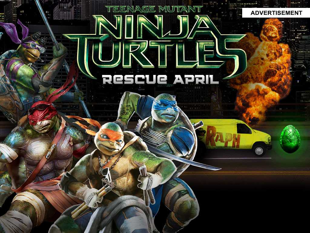Type 4a tmnt rescue april game external