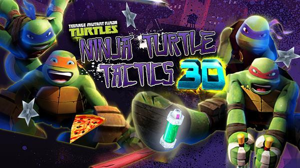 Ninja Turtle Tactics 3D Featured Image