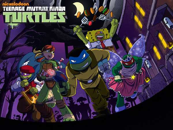 Teenage Mutant Ninja Turtles: Trick or Treat Tussle