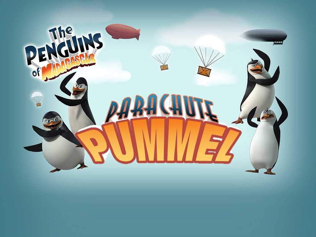 The Penguins of Madagascar: Parachute Pummel