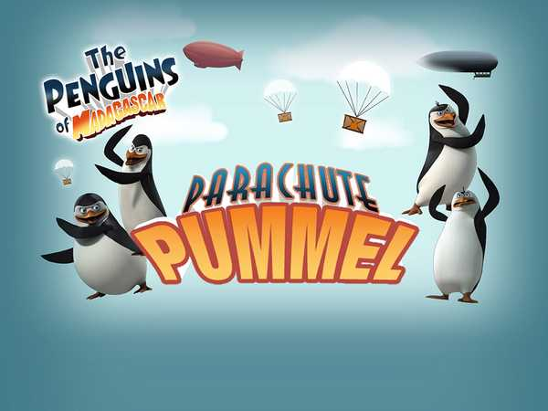 The Penguins of Madagascar: Parachute Pummel