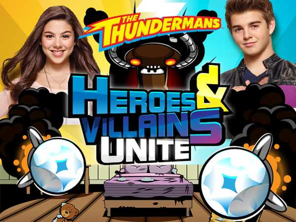 The thundermans heroes amp villains unite unblocked games