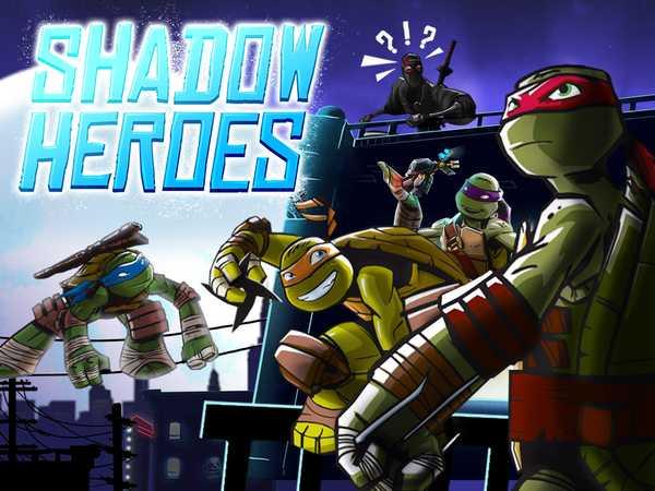 Teenage mutant ninja turtles shadow heroes