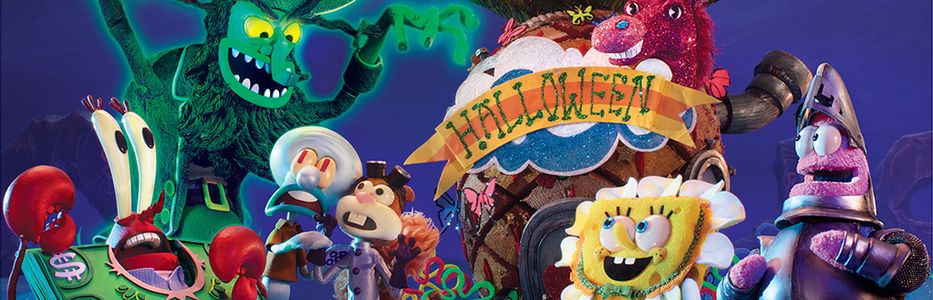 NICKELODEON'S BRAND-NEW SPONGEBOB SQUAREPANTS HALLOWEEN STOP ...