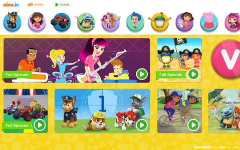 nickelodeon launches new nickjr com site with responsive design for