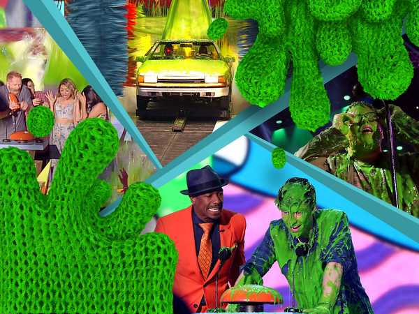 "Kids' Choice Awards 2015: ""Slimes of the Night 2015"""