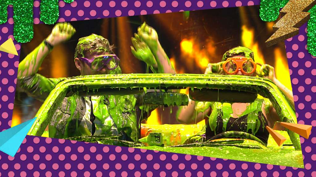 Kids choice awards 2015 the first ever slime car wash ccuart Gallery