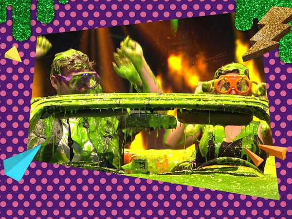 "Kids' Choice Awards 2015: ""The First Ever Slime Car Wash"""