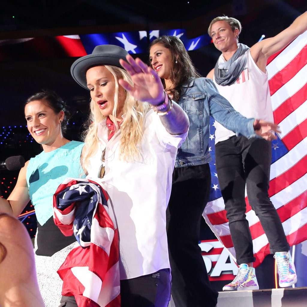 "Kids' Choice Sports 2015: ""USWNT Arrives!"""